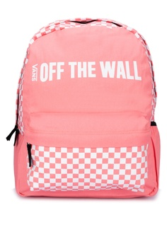 8bf3a40a340f7c Vans pink Central Realm Backpack BE472AC070D8A8GS_1