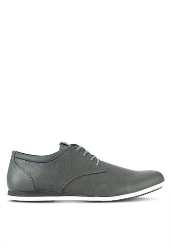 ALDO grey Aauwen Derby Shoes AL087SH0RLLOMY_1