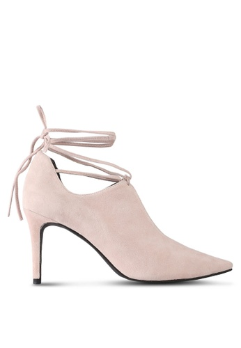 House of Avenues pink Gillie Ankle Pumps 92ADASH2AB73F6GS_1