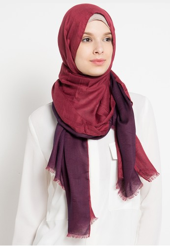 SHALIMAR red Pashmina 2 In 1 Style SH713AA47ASIID_1