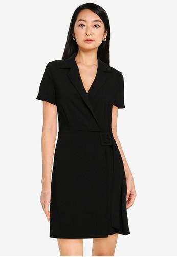 KOTON black Casual Dress 34A74AA31369E1GS_1