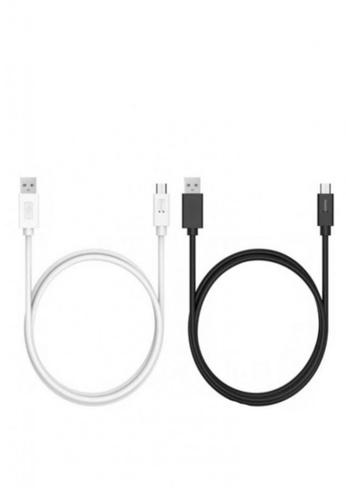 Latest Gadget black and white Tronsmart CC06P 2pcs 1M Charging Cable LA734AC32HIPPH_1
