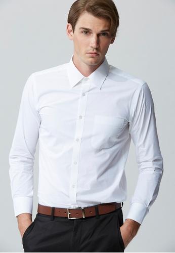 Life8 white Formal Classic Plain Formal Shirts-11111-White LI283AA0FFFTSG_1