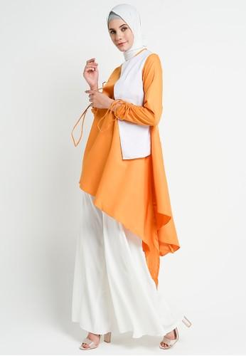 BellyBee orange Halima Tunik Orange A27E9AA57EFAC8GS_1