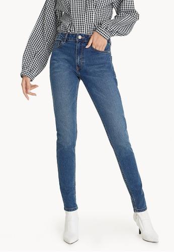 Pomelo blue Mid Wash Skinny Jeans 3D0C3AAFFF0B2CGS_1