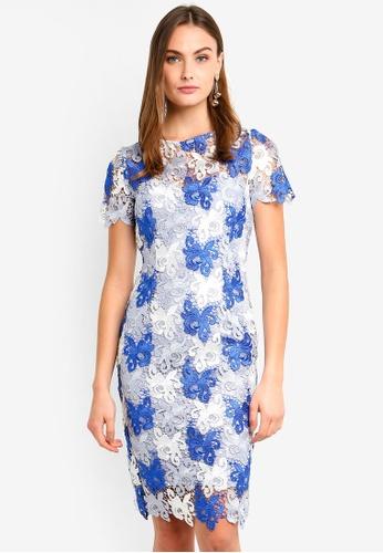 Paper Dolls blue Bluebell Lace Dress 90035AA24B6715GS_1