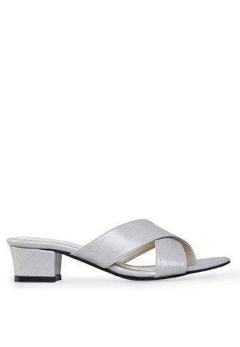 Cavasso grey Savira Mid Heels Grey CA224SH24LVRID_1