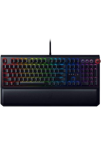 Razer black Razer BlackWidow Elite Mechanical Gaming Keyboard: Orange Mechanical Switches - Tactile & Silent - Chroma RGB Lighting - Magnetic Wrist Rest - Dedicated Media Keys & Dial - USB Passthrough 35FC5ES1AC7546GS_1