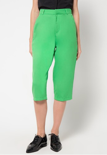 Raspberry green Grace Cullotes Pants RA572AA59JBGID_1
