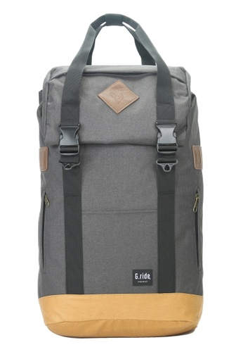 G.ride grey and beige Arthur M Backpack 4B651AC54C3FE8GS_1