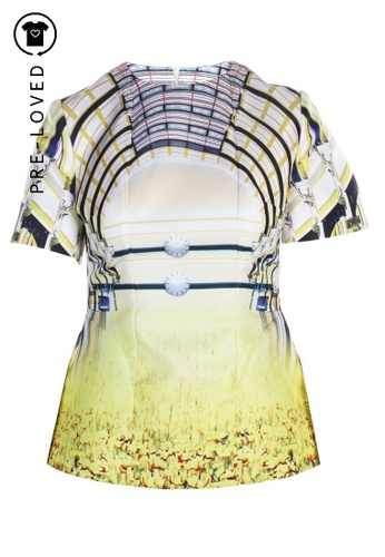Mary Katrantzou multi Pre-Loved mary katrantzou Multicolor Printed Blouse 9C545AAA0DEFFFGS_1