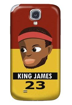 King James Matte Hard Case for Samsung Galaxy S4