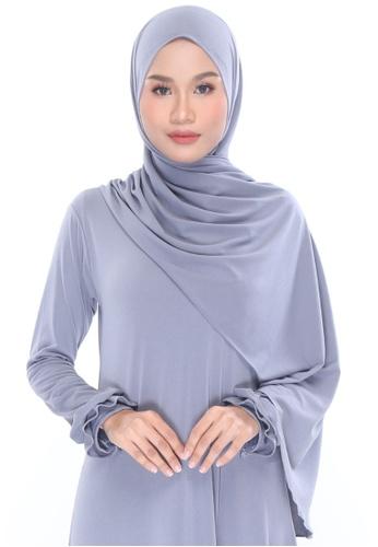 MILLA grey Shawleha Hijab 83B72AADD109FEGS_1