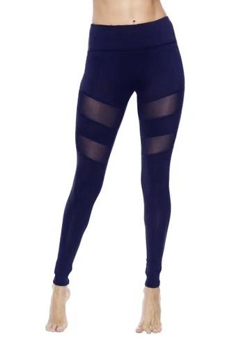 Chelyne blue Chelyne Legging Sport Panjang T925 Celana Olahraga Tile ACC1FAA539F94BGS_1