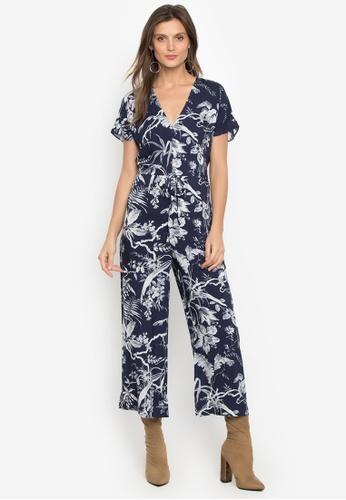 a9085f70fe0 Shop WAREHOUSE Mono Fern Jumpsuit Online on ZALORA Philippines