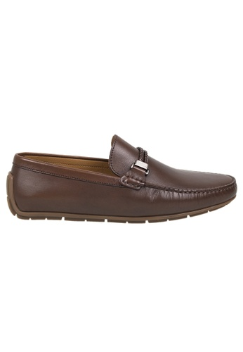 Tomaz brown Tomaz C319 Braided Buckled Loafers (Coffee) AF63BSH519AC0FGS_1