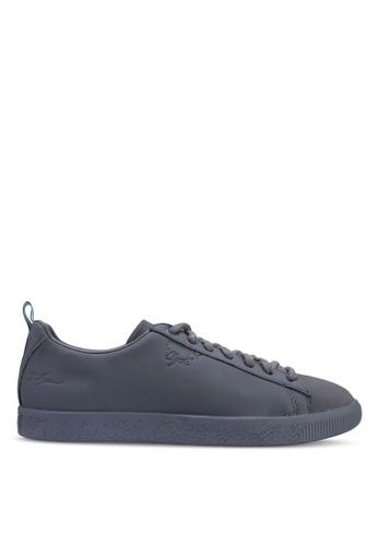 d8189e83586 Puma Select grey Puma x Big Sean Clyde Shoes 67CB4SH7F6A35DGS 1