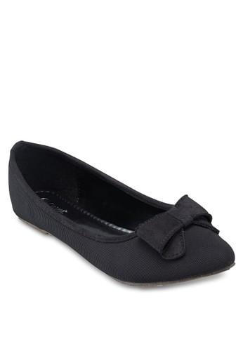 Covet 蝴esprit taiwan蝶結尖頭平底鞋, 女鞋, 鞋