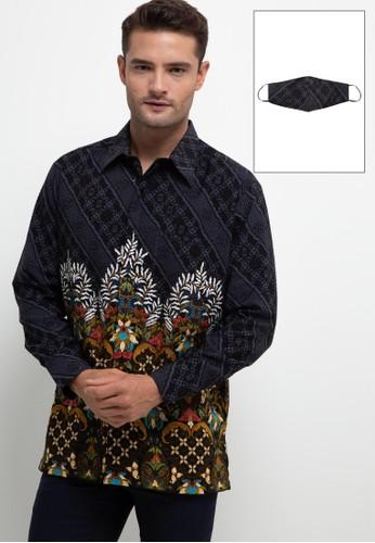 ARJUNA WEDA multi Kemeja Batik Kawung Hati 67092AAD6CBB78GS_1