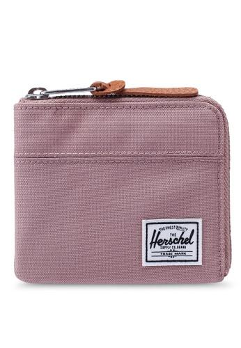 Herschel pink Johnny RFID Wallet 7B6C8AC2D6B16CGS_1
