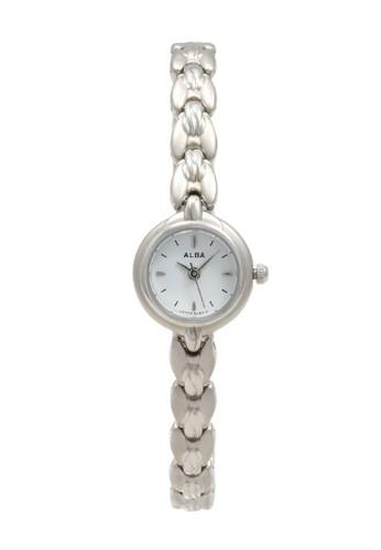 Alba silver ALBA Jam Tangan Wanita - Silver White - Stainless Steel - AC3E73 641E0AC830D589GS_1