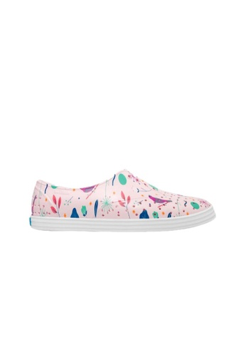 Native Shoes Womens Jericho Milk Pink//Shell White 10 B US
