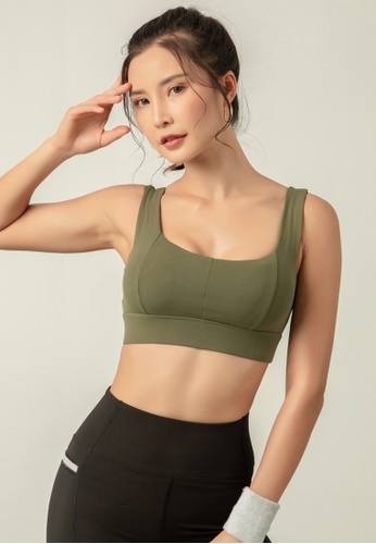 HAPPY FRIDAYS Women's High Support Sports Bra DK-WX03 D5BE2AADAE55BBGS_1