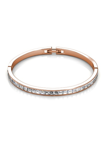 Her Jewellery gold Her Jewellery Chic Bangle (Rose Gold) with Premium Grade Crystals from Austria 35B21AC11C0D84GS_1