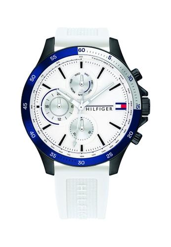Tommy Hilfiger white Tommy Hilfiger White Men's Watch (1791723) EBC29AC6C689D3GS_1