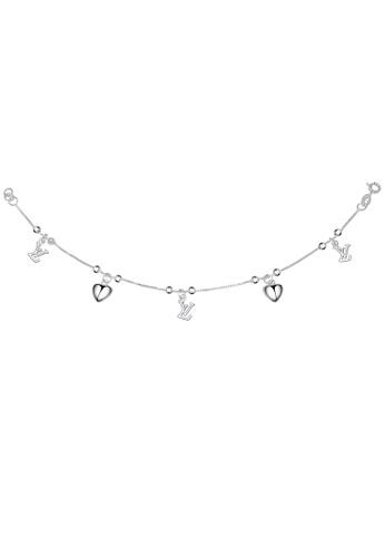 SC Tom Silver silver LV Heart Bracelet/Ladies Bracelet SC872AC46XIZPH_1