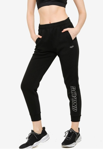 361° black Sports Life Knit Pants 7DB78AA5136C9FGS_1