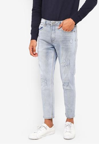 Cotton On 藍色 修身牛仔褲 3C0EEAA4C4C758GS_1