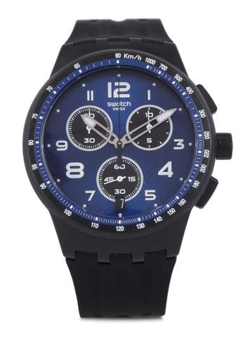 Swatch black Nitespeed Watch AD200ACC01594CGS_1