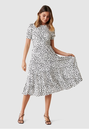 Forever New Betty Printed Midi Dress 18977AA062C3B6GS_1