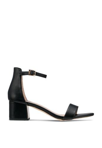 nose black Chrome Heel Sandals 0B299SH9B3C681GS_1