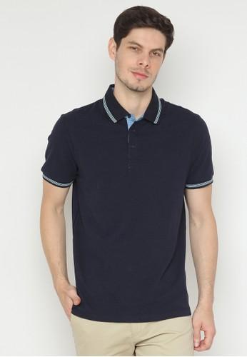 Minarno navy Striped Collar 07 66E1AAAD8D5193GS_1