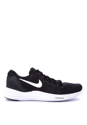 Nike black Men's Nike Lunar Apparent Running Shoes NI126SH0STSQMY_1