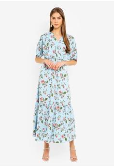 176ec425 Vero Moda blue Ava Wide Maxi Dress 4260BAAD5C8A9BGS_1