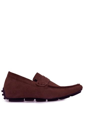 Keeve brown Keeve Shoes Peninggi Badan Formal 140- Brown 72EE6SH12D97B7GS_1