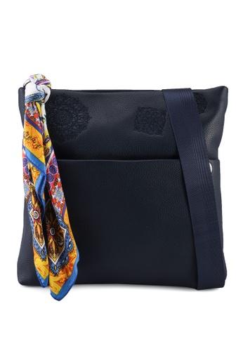 Desigual blue Casual Shoulder Bag 2A5D5AC58C1B99GS_1