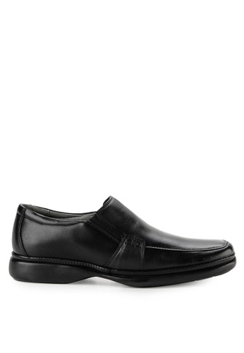 Obermain black Superleve Slip On -Sapato 036E8SH31A1B7EGS_1