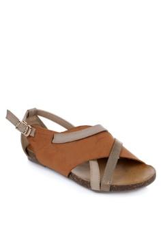 Jean Flat Sandals