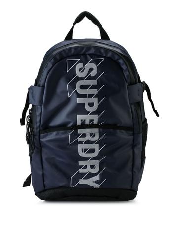 Superdry navy Sport Code Tarp Backpack - Sportstyle Code AABA3AC9568B89GS_1