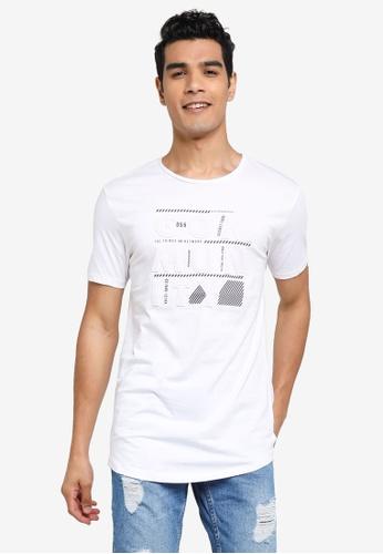 LC Waikiki 白色 Crew Neck Printed T-Shirt 95C7FAA3939FDAGS_1