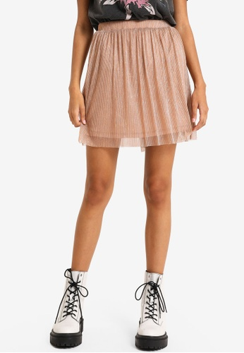 PIMKIE pink and gold Shimmery Skirt 16449AA1CCCA10GS_1