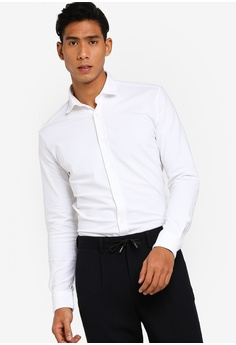 fcf6295f4806 Selected Homme white Slimcole Slim Fit Shirt 98394AA123B219GS_1