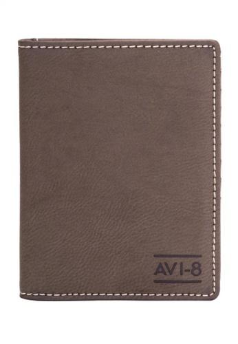AVI-8 brown Passport Holder   AV642AC77JRMPH_1