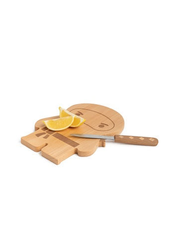 OTOTO Ninja Board - Wooden Cutting Board and Knife Set CFE9EHL90D6BB2GS_1