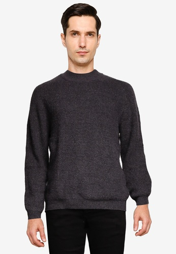 GLOBAL WORK black Pullover Sweater 58251AAF6238C4GS_1