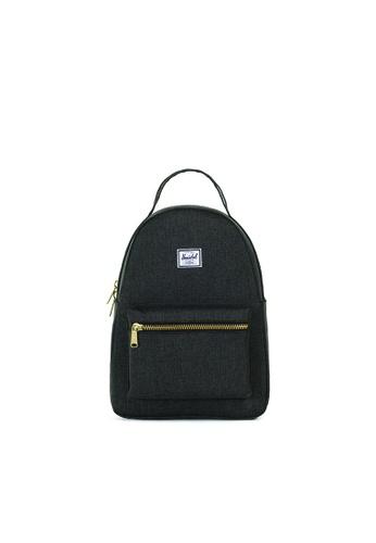 Herschel black Herschel Nova Xs Backpack (Black X) - 17L C86CCAC9D0022DGS_1